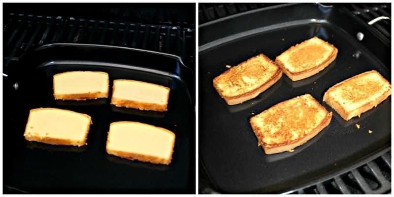grilling poundcake
