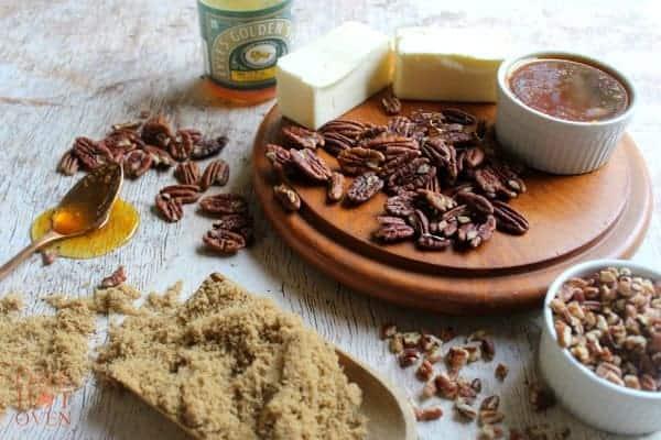 Browned butter blondie ingredients