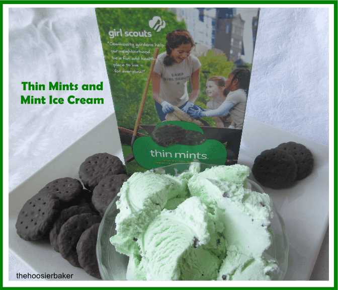 Girl Scout Thin Mints and Mint Ice Cream Truffles - One ...