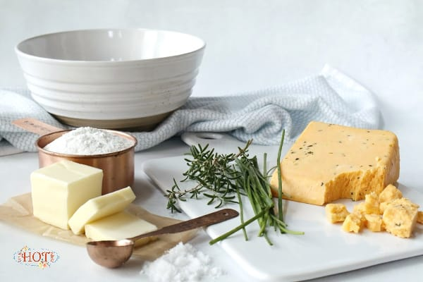 6-ingredients to make Cotswold Cheese Crackers