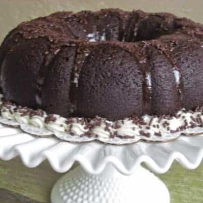Chocolate Stout Beer Cake