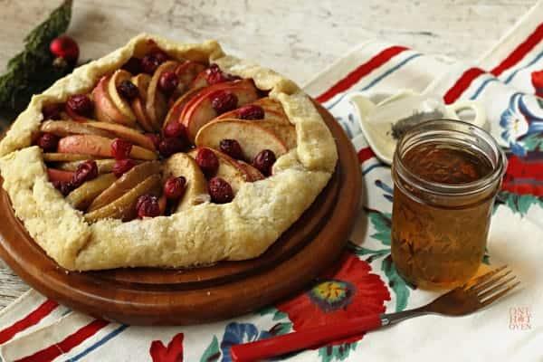 Apple Cranberry Galette