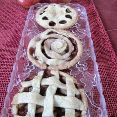 Mini Apple Cranberry Pies With A Cute Factor