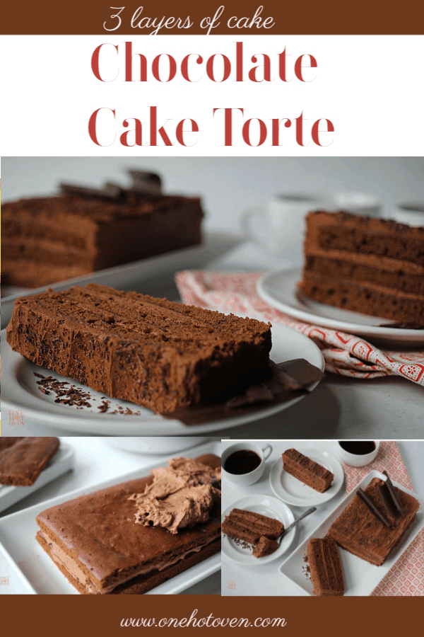 Pictures of a chocolate cake