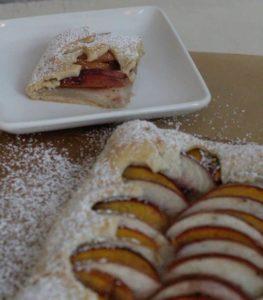 baked-almond-peach-tart