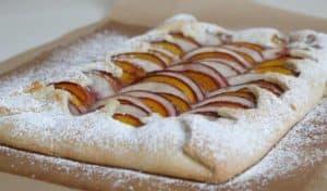 baked-peach-almond-tart