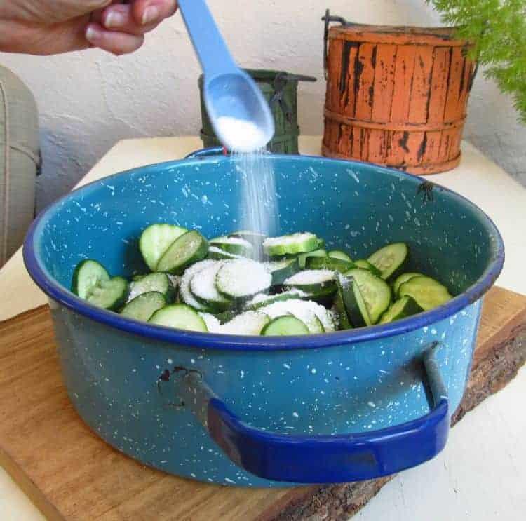 salting-cucumbers