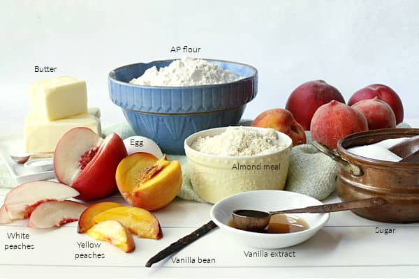 peach tart ingredients