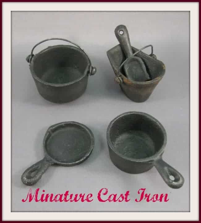 miniature cast iron