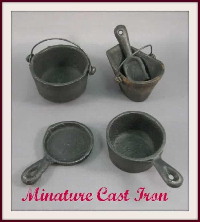 miniature cast iron