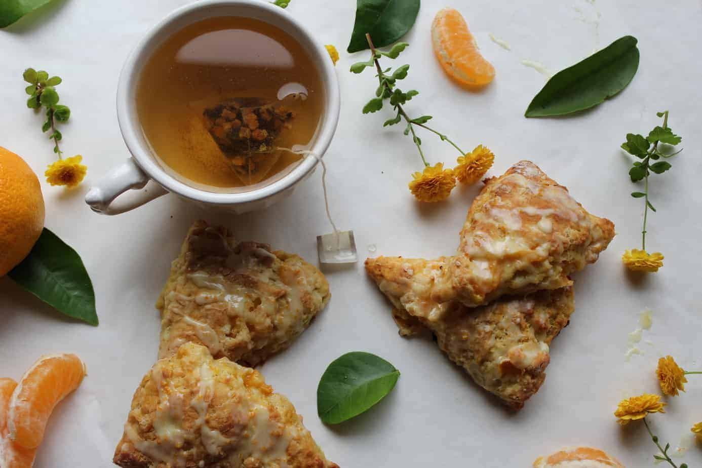 Mandarin-Orange-Scones-and-Tea