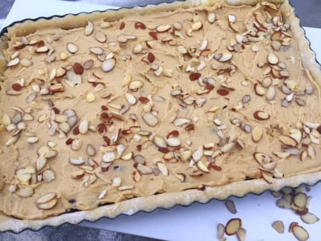 Cut Bakewell Tart