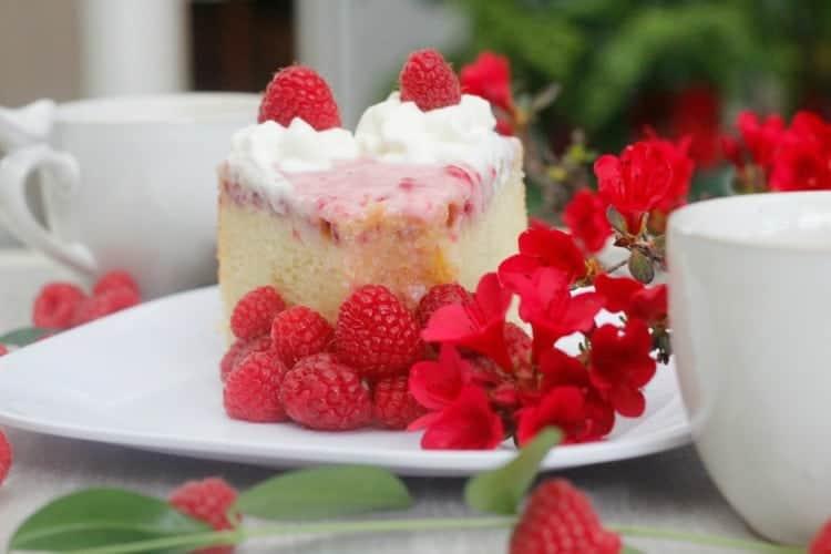 Slice of Raspberry Chiffon