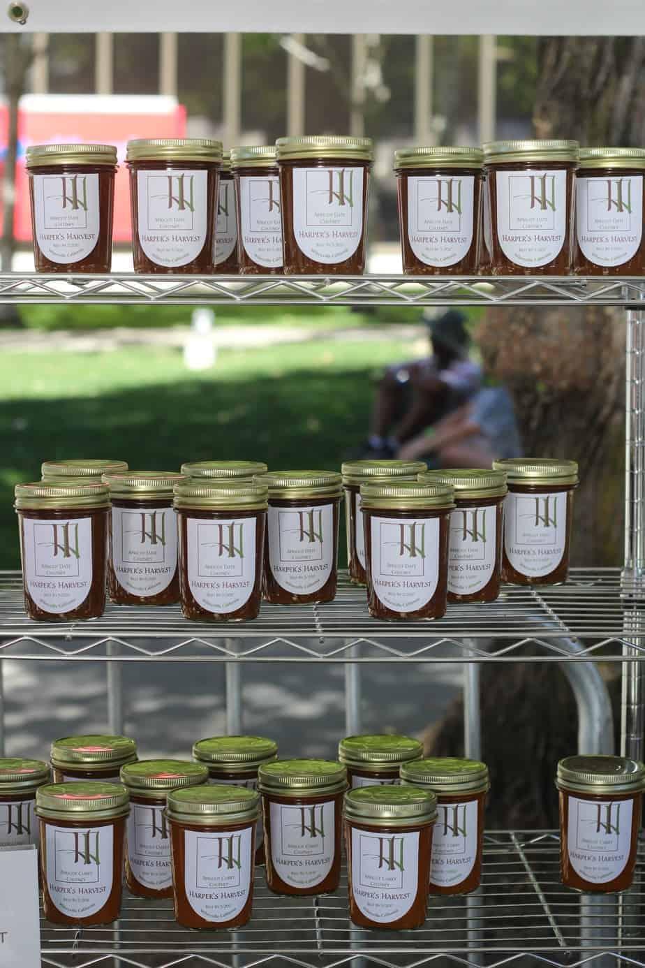 Harper's Harvest jams