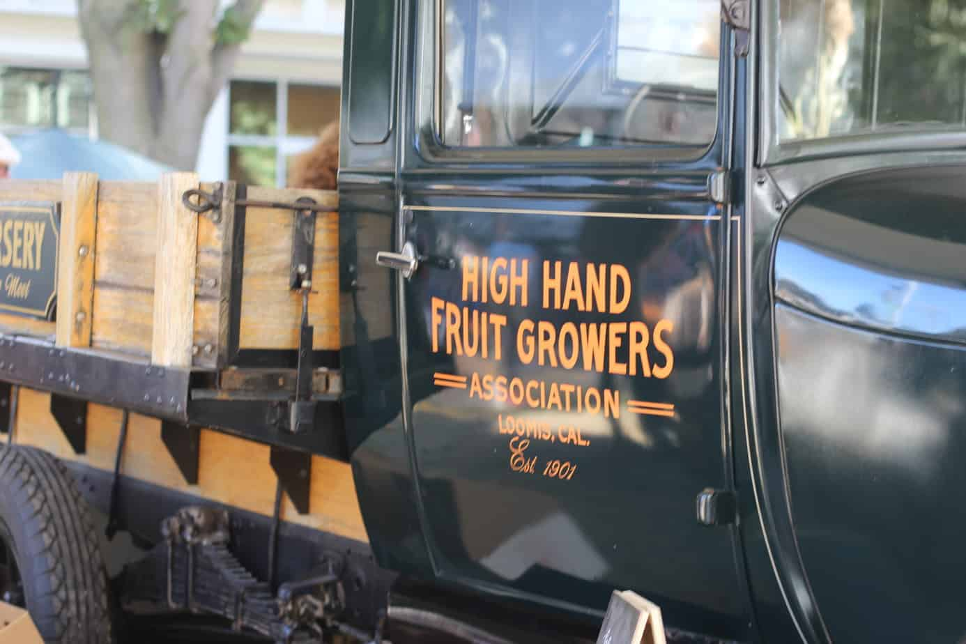 High Hand Fruit Growers truck