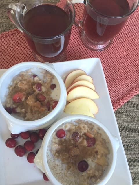 bowls of oatmeal