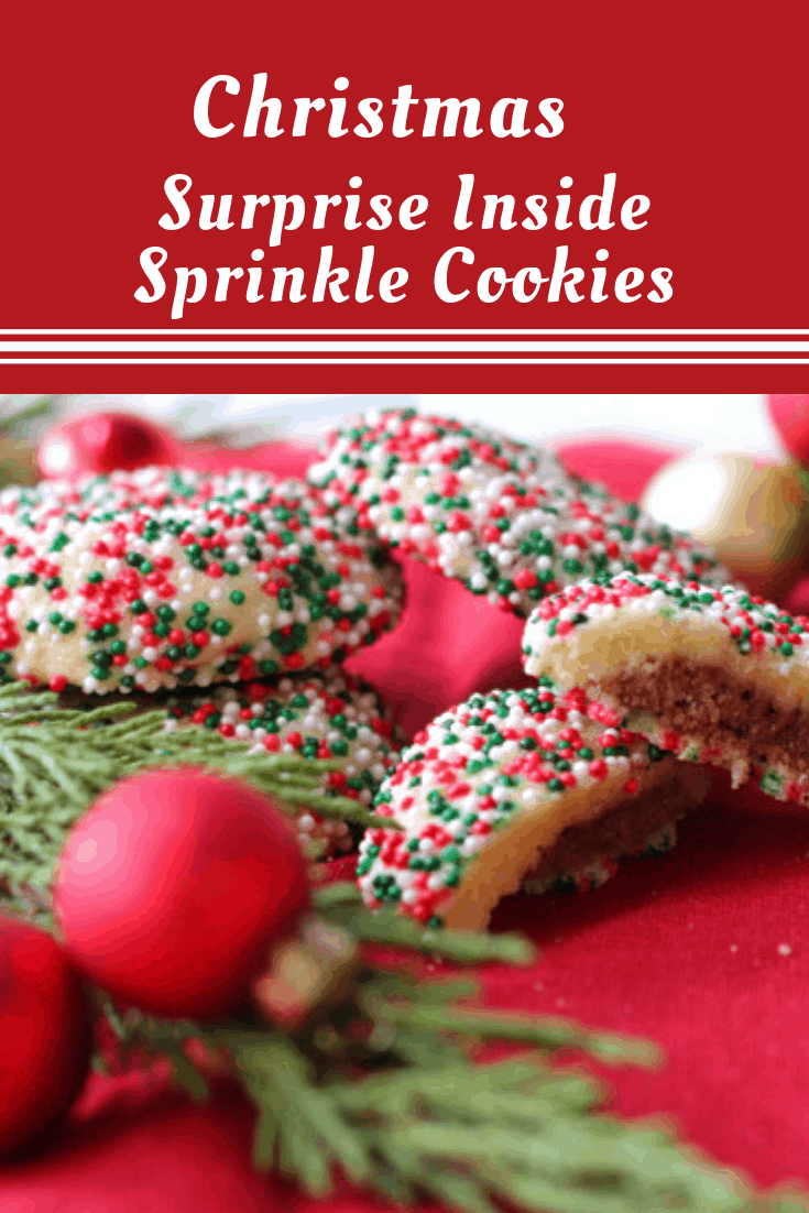 Christmas Surprise Inside Cookies