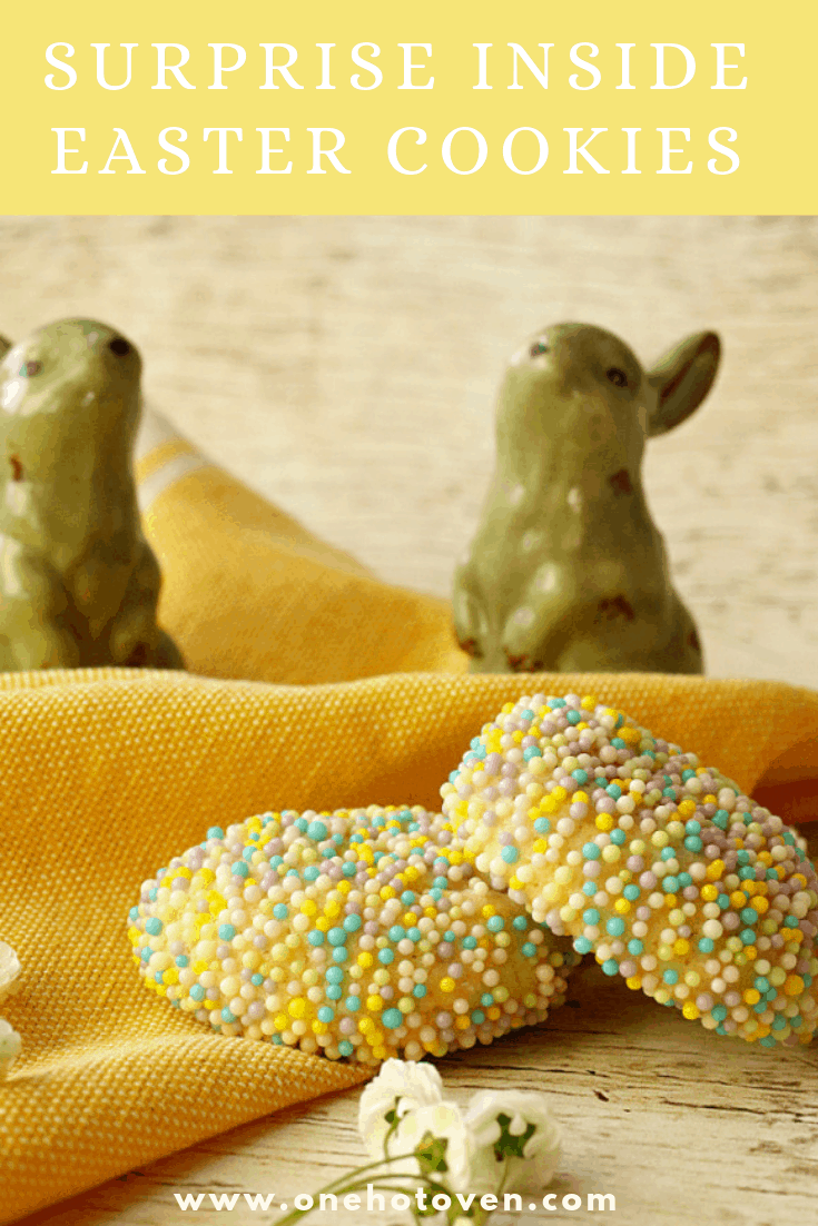 Surprise inside Easter Cookies