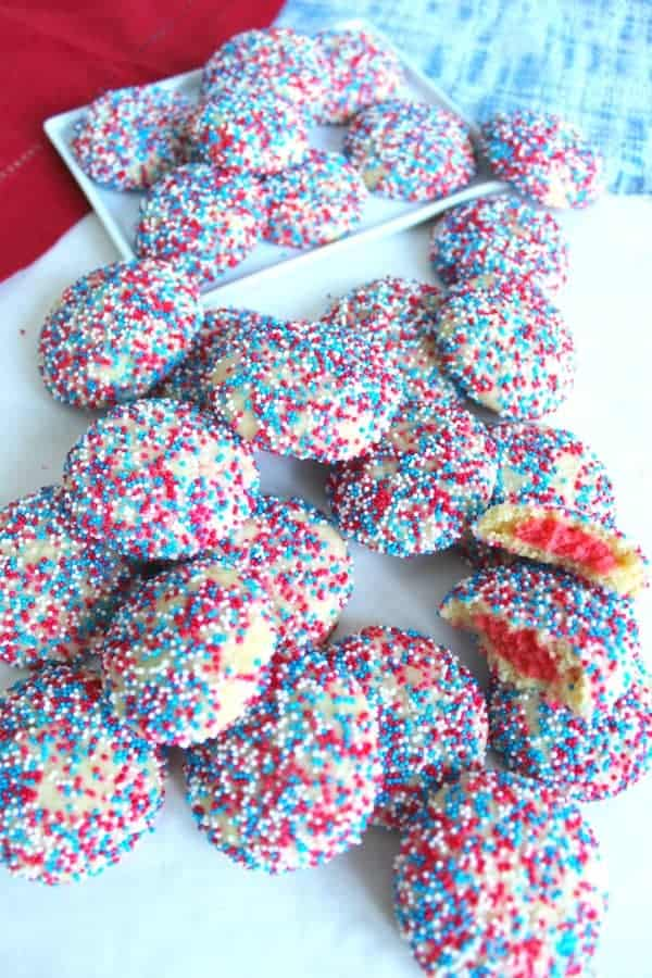 Firework Surprise Inside Cookies