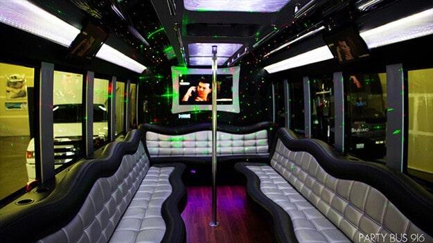 Sacramento Party Bus Limo