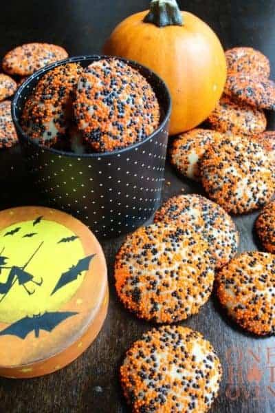 Halloween Surprise Inside Cookies
