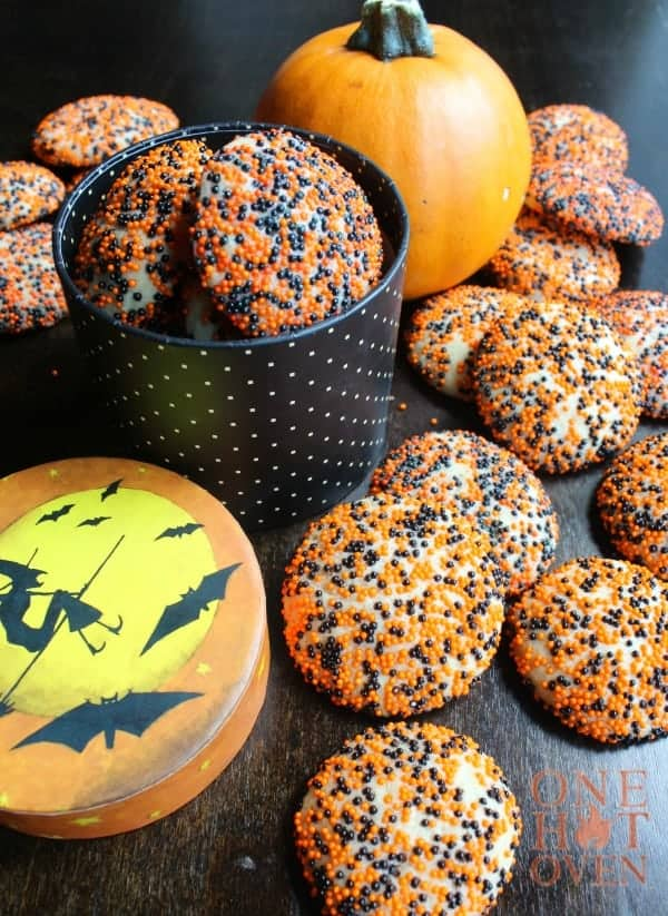Halloween Surprise Inside Cookies