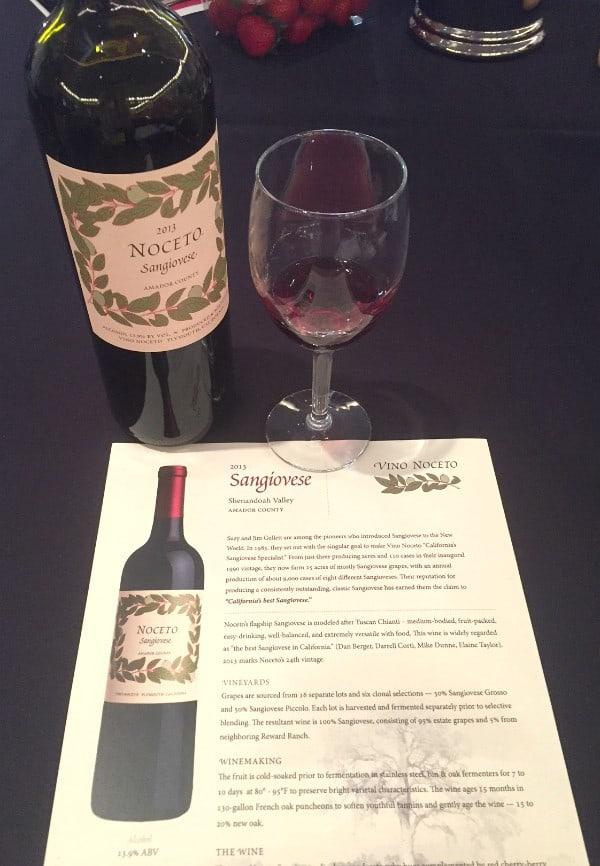 Noceto Wine