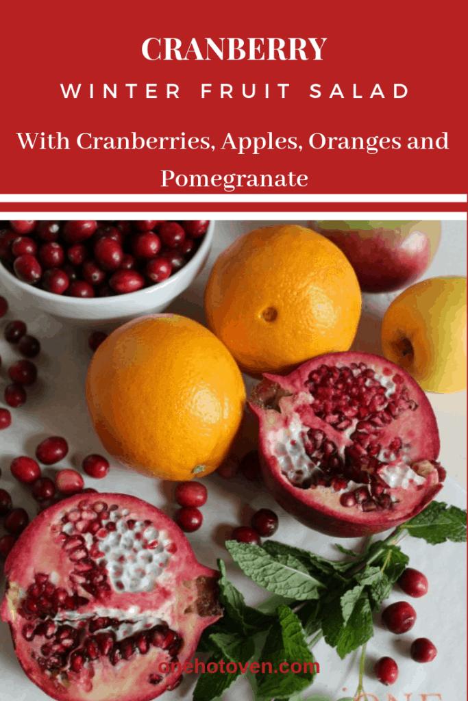 Cranberry Winter Fruit Salad
