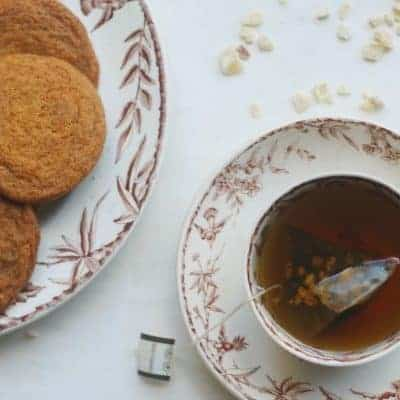 Triple Ginger Spice Cookies