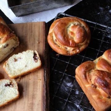 Sweet Nut Braid Bread