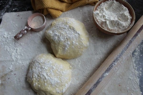 Sweet Nut Braid dough