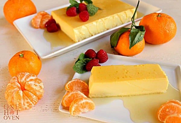 Mandarin Orange Caramel Creme