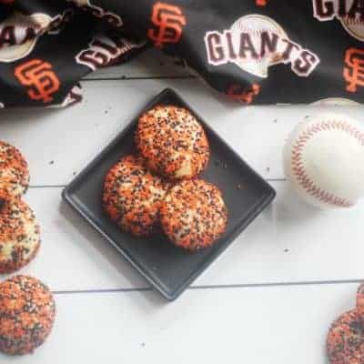 San Francisco Giants Orange and Black Surprise Inside Cookies for Opening Day