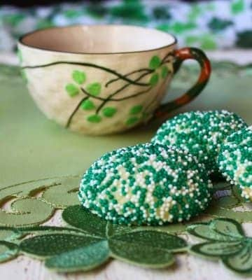 Mint Surprise Inside Cookies