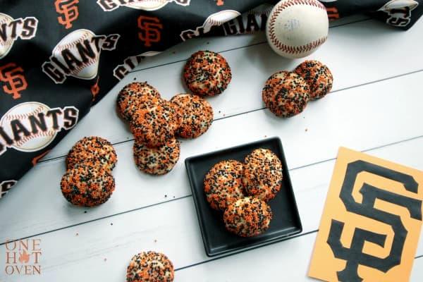 Surprise Inside cookies with sprinkles