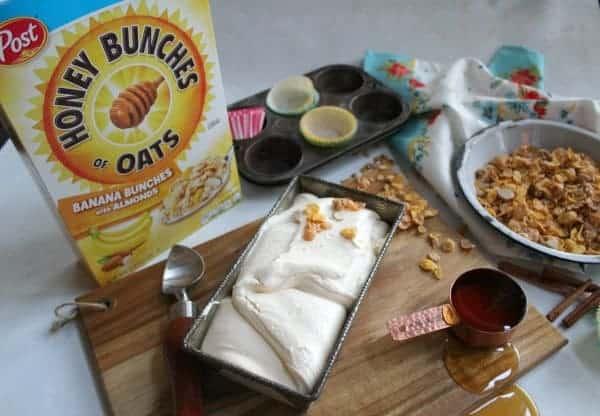 Ingredients for ice cream balls