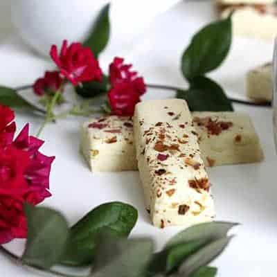 Rose Petal Shortbread Cookies – GF