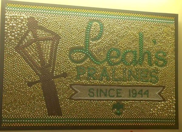Leah's sign