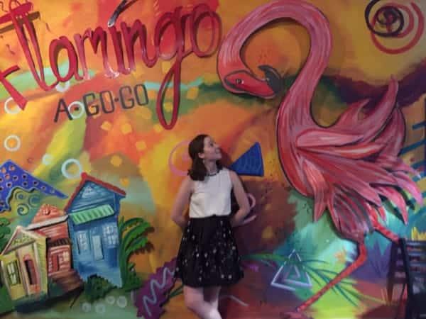 Bevyn at Flamingo-A-Go-Go