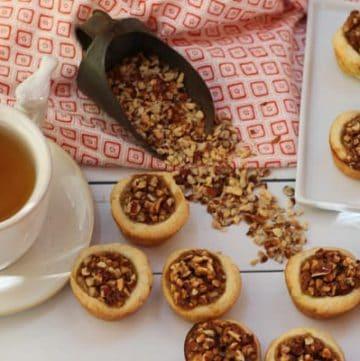 Pecans Tassies and Tea