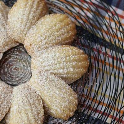 Spiced Madeleines With Cinnamon, Nutmeg and Cloves