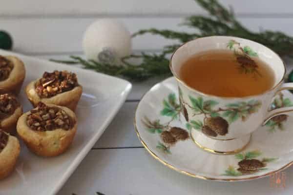 Pecan Tassies and Tea