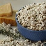 Rosemary and Asiago Cheese Popcorn