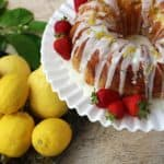 Iced Sweet and Tangy Lemon Cake