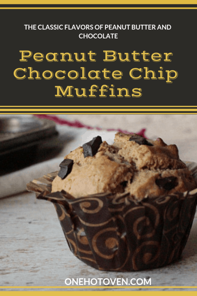 Peanut Butter Chocolate Chips Muffins