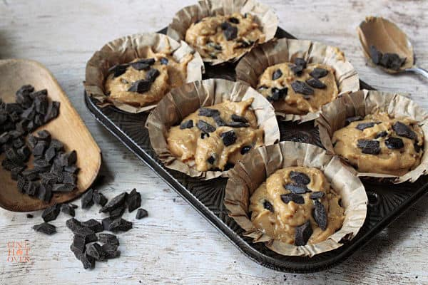 unbaked muffins