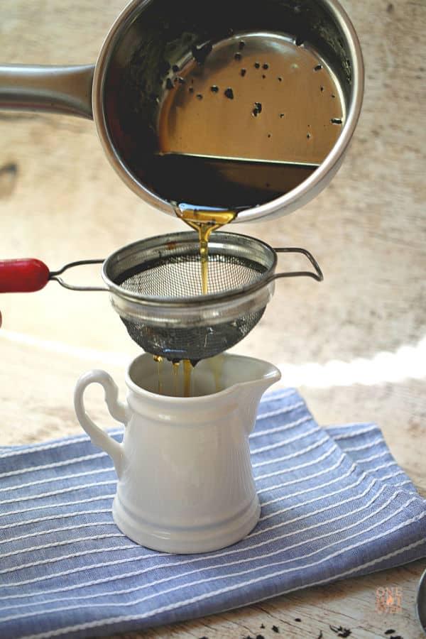 tea infused maple syrup