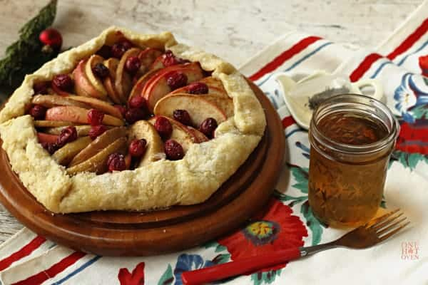 Apple Cranberry Galette