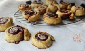 Jelly Roll Pie Tarts