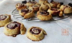 Jelly Roll Pie Tarts